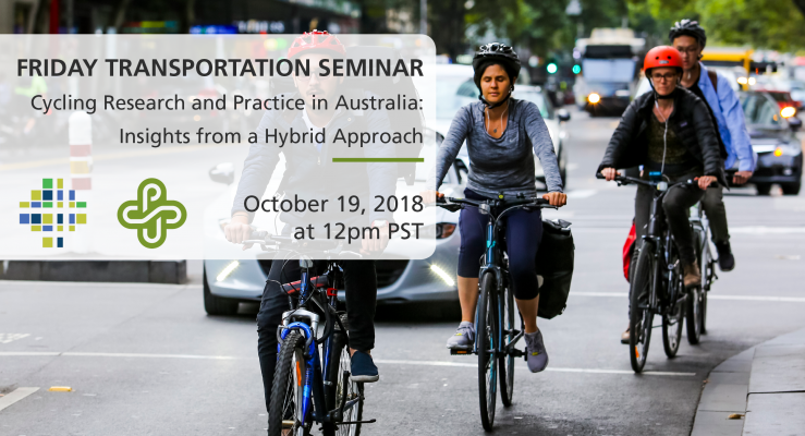 Friday Transportation Seminar at PSU - Cycling Research and Practice in Australia: Insights from a Hybrid Approach (Marilyn Johnson)