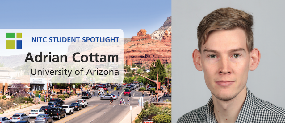 NITC Student Spotlight: Adrian Cottam of University of Arizona