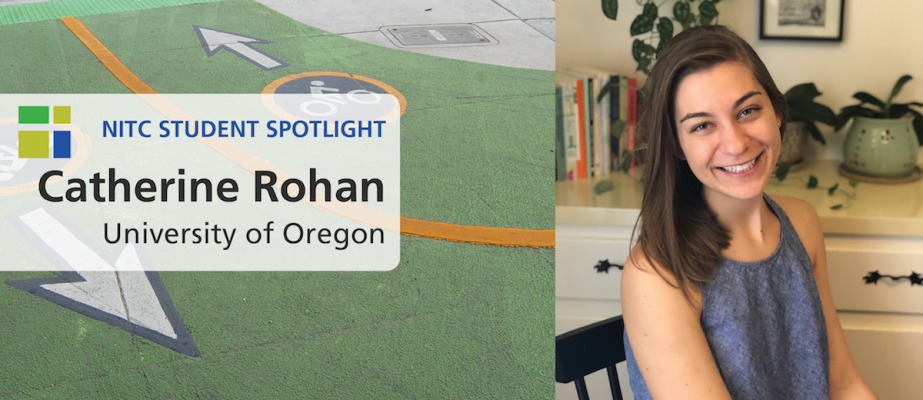 NITC Student Spotlight: Catherine Rohan, University of Oregon