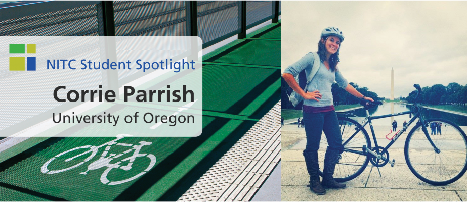 Student Spotlight: Corrie Parrish, University of Oregon