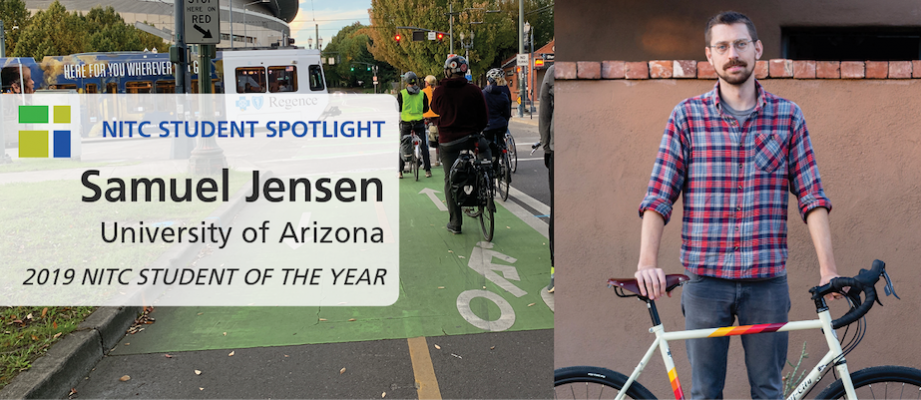 NITC Student Spotlight: Samuel Jensen of University of Arizona