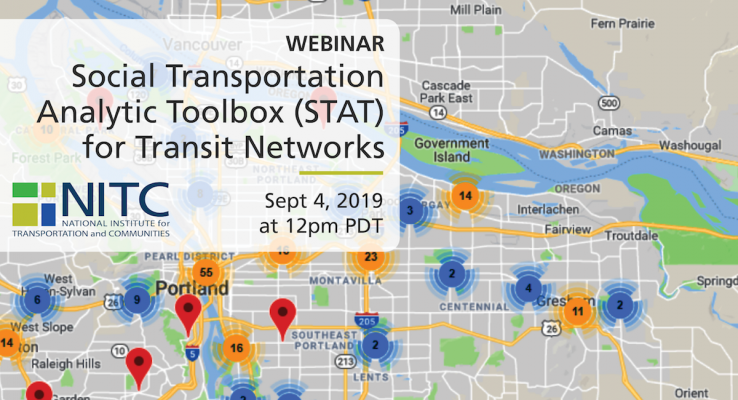 Social Transportation Analytic Toolbox (STAT) for Transit Networks